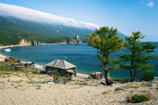 Lake Baikal Background for Android, iPhone and iPad