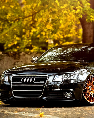 Audi A4 with New Rims Picture for HTC Titan