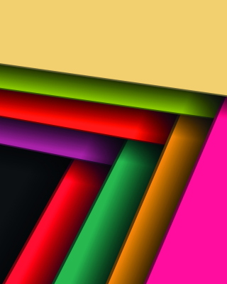 Abstract Vector Background Wallpaper for Nokia Asha 306