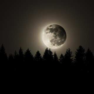 Full Moon Time sfondi gratuiti per iPad mini