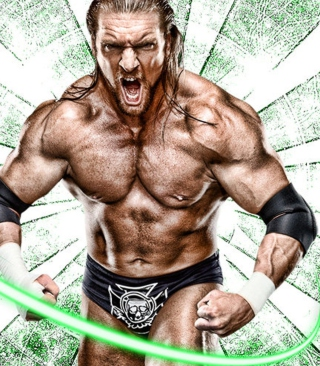 Free Triple H Picture for iPhone 3G
