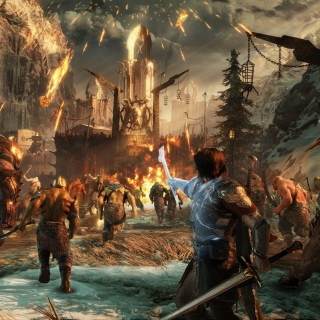 Middle earth Shadow of War sfondi gratuiti per iPad 3