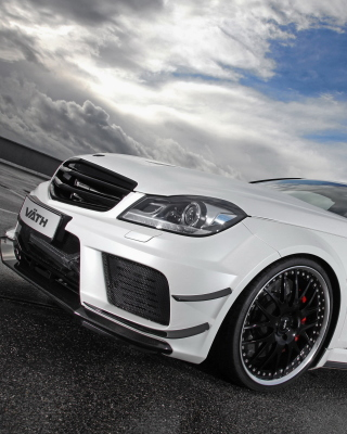 Mercedes AMG C63 Coupe Picture for Nokia Asha 311