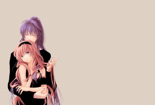 Vocaloid Gakupo & Luka Background for Android 480x800