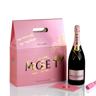 Moet & Chandon Finest Vintage Champagne Background for iPad mini 2