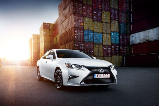Lexus ES 200 White Wallpaper for Android, iPhone and iPad