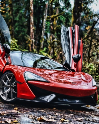 Free McLaren 570S Picture for Nokia 5800 XpressMusic