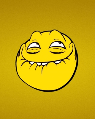 Memes Smile Background for Nokia C-5 5MP