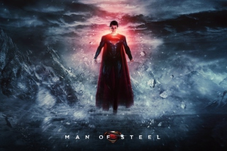 Kostenloses Superman Man Of Steel Wallpaper für Nokia C3