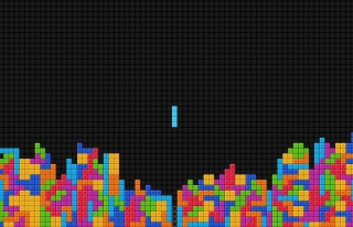 Tetris Background for 1920x1200
