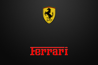 Ferrari Emblem Background for Android, iPhone and iPad