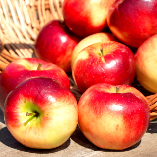 Free Autumn Apples Picture for iPad mini 2