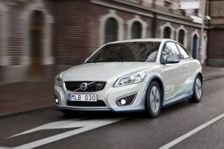 Free Volvo C30 Electric Car Picture for Android, iPhone and iPad