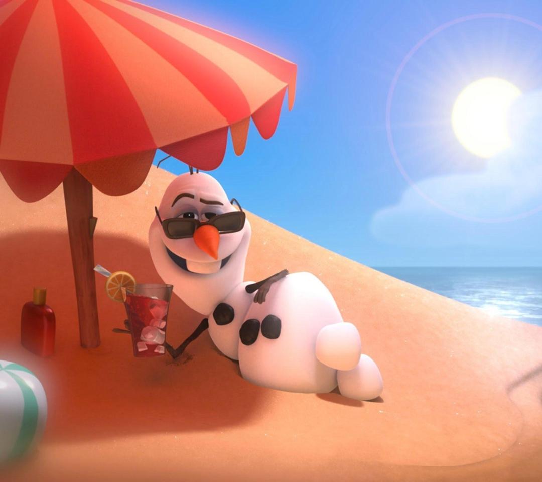 Disney Frozen Olaf Summer Holidays para Motorola RAZR XT910