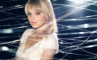 Emma Stone New Gwen Stacy Background for Android, iPhone and iPad