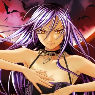 Rosario plus Vampire Background for HP TouchPad