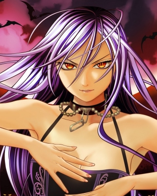 Rosario plus Vampire Background for HTC Touch Pro