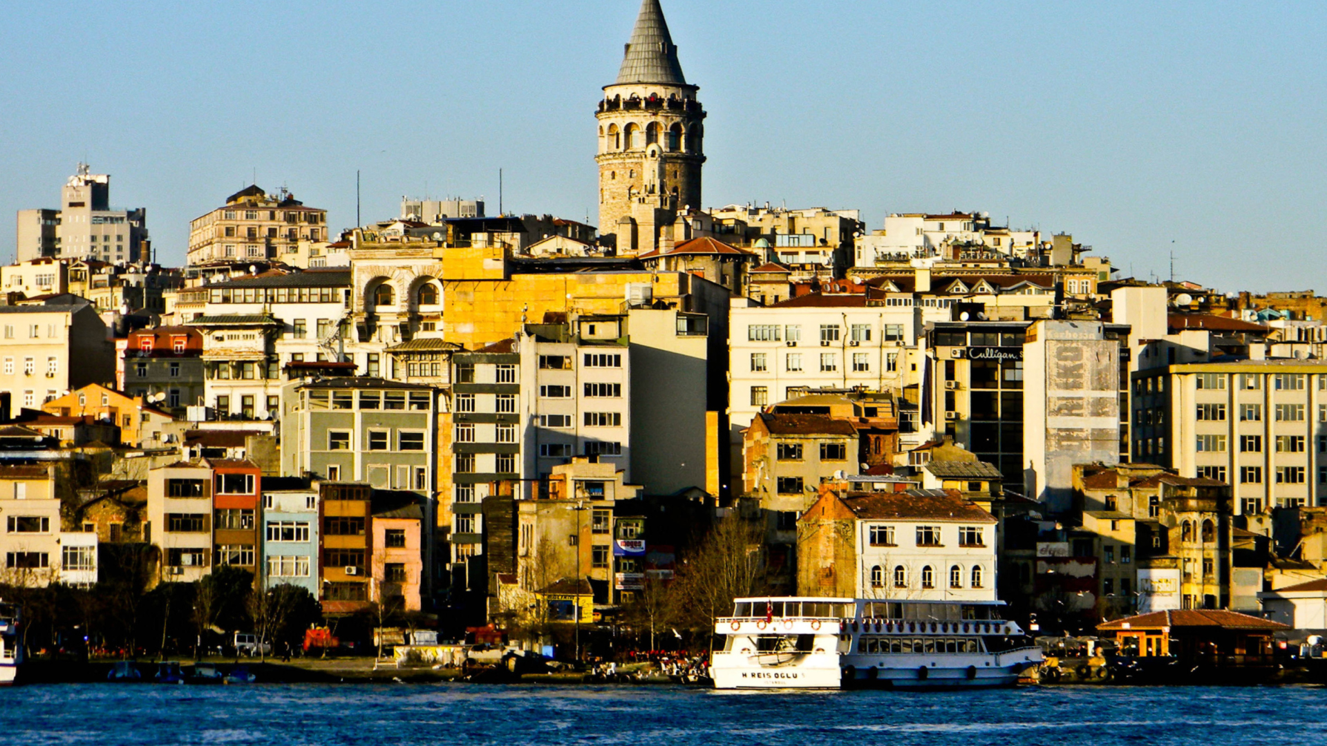 Galata Tower wallpaper 1920x1080