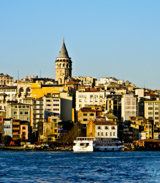 Galata Tower sfondi gratuiti per iPhone 4S
