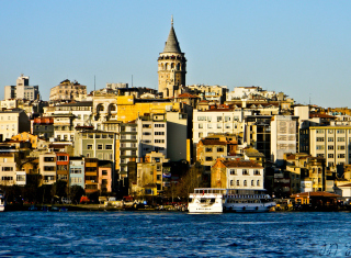 Galata Tower Wallpaper for Android, iPhone and iPad