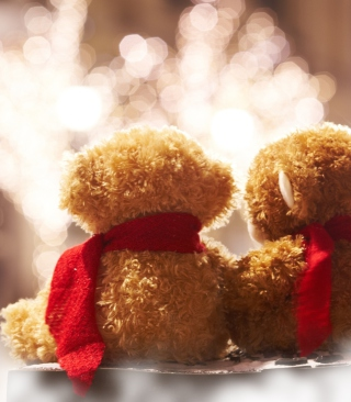 Christmas Teddy Picture for HTC Titan