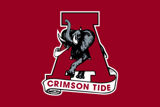 Alabama Crimson Tide Background for Android, iPhone and iPad