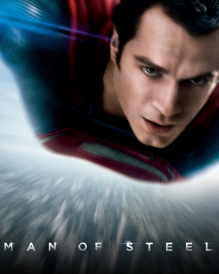 Man Of Steel Dc Comics Superhero Background for Nokia 5800 XpressMusic