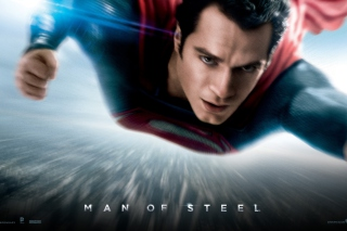 Free Man Of Steel Dc Comics Superhero Picture for Nokia Asha 200