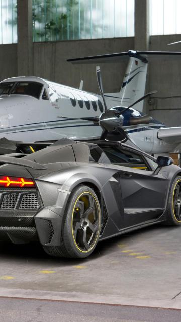 Lamborghini Aventador V12 LP1600 Mansory para Nokia 5230