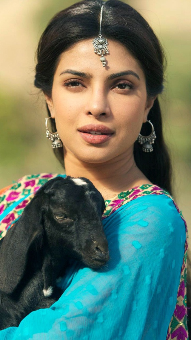Priyanka Chopra In Teri Meri Kahaani wallpaper 640x1136