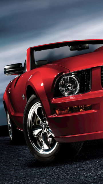 Screenshot №1 pro téma Ford Mustang Shelby GT500 360x640