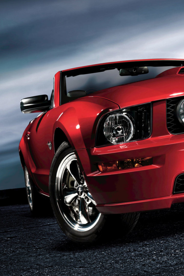 Ford Mustang Shelby GT500 wallpaper 640x960