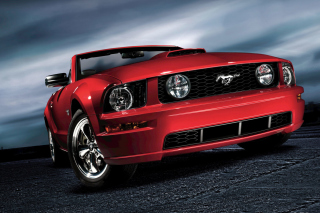 Ford Mustang Shelby GT500 Background for Android, iPhone and iPad