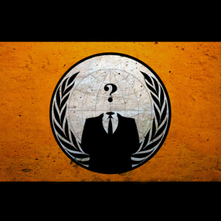 Anonymous Hacktivist Background for iPad Air