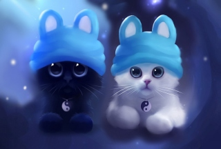 Sweet Kitty Painting sfondi gratuiti per Samsung Galaxy Nexus