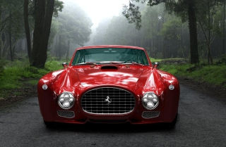 Ferrari F340 Competizione Background for Android, iPhone and iPad