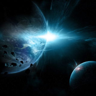 Planet System Wallpaper for iPad 3