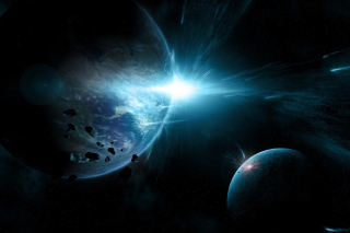 Planet System Wallpaper for Desktop 1280x720 HDTV
