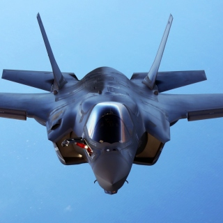 Lockheed Martin F 35 Lightning II Wallpaper for iPad 3