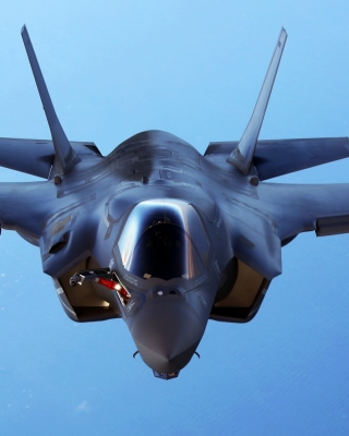 Lockheed Martin F 35 Lightning II Background for Nokia Asha 311