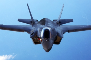 Lockheed Martin F 35 Lightning II Background for Nokia XL