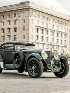 Screenshot №1 pro téma Bentley Speed Six 1930 240x320