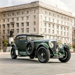 Обои Bentley Speed Six 1930 на телефон 128x128
