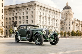 Bentley Speed Six 1930 sfondi gratuiti per 1024x600