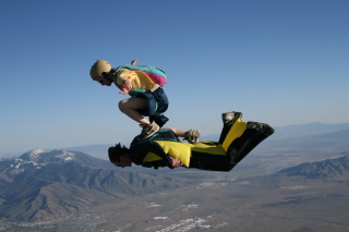 Skydiving Picture for Android, iPhone and iPad