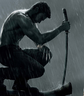 The Wolverine Movie 2013 - Fondos de pantalla gratis para Nokia Asha 306