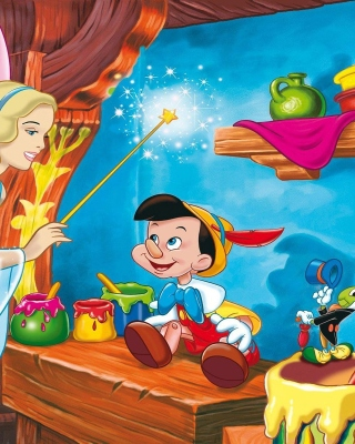 Free Pinocchio Picture for 360x640