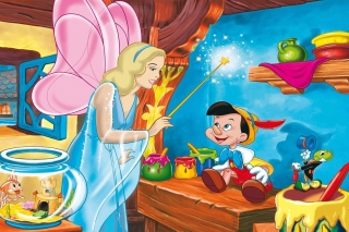 Pinocchio Wallpaper for Widescreen Desktop PC 1600x900
