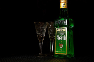 Absinthe Background for Android, iPhone and iPad