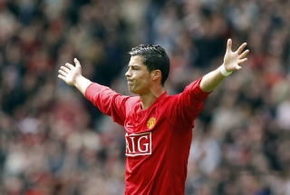 Free Cristiano Ronaldo, Manchester United Picture for Android, iPhone and iPad